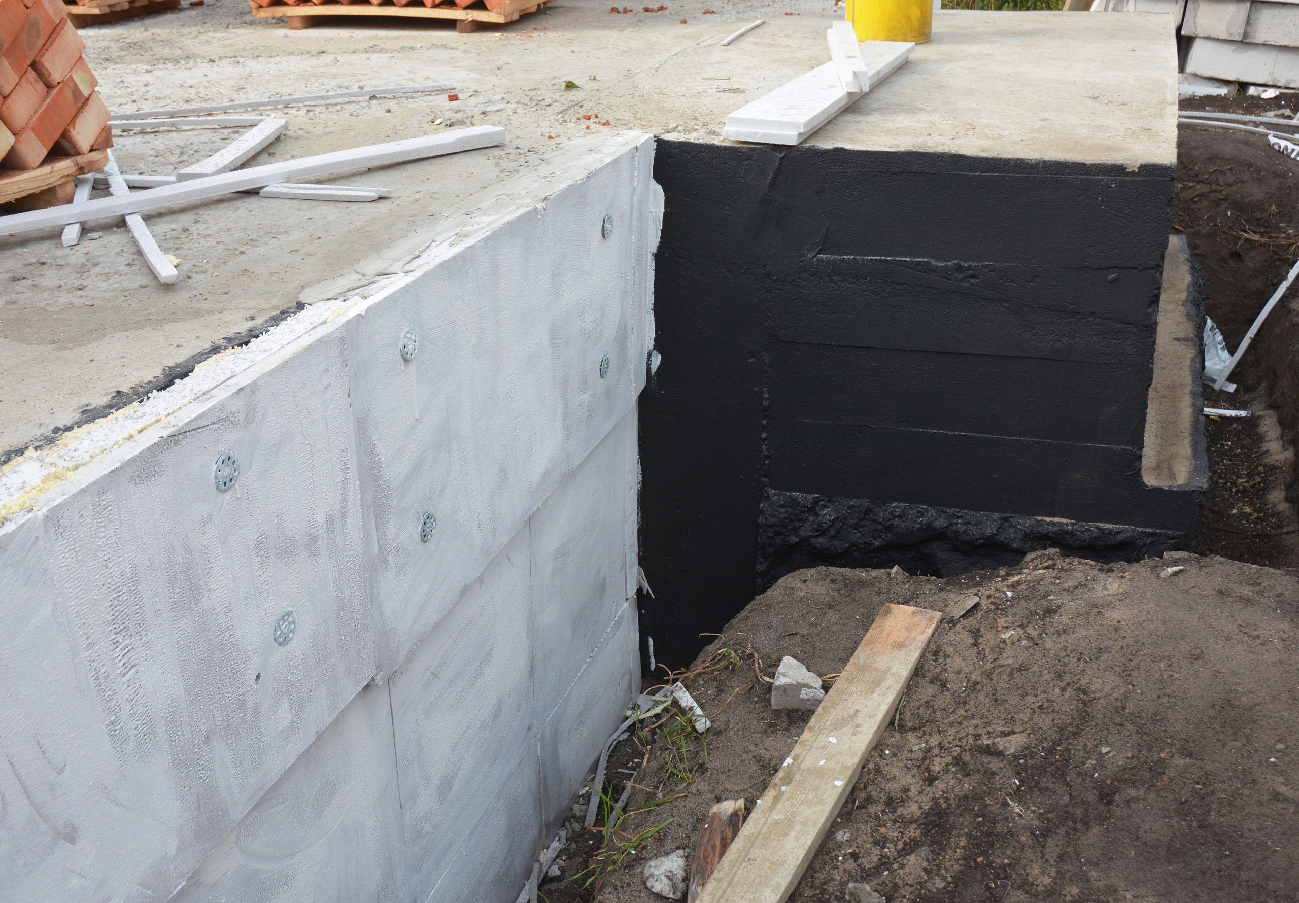 What Is The Difference Damp-Proofing And Exterior Waterproofing?